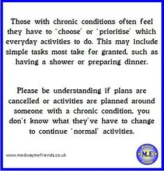 #awareness month #chronicillness #MEcfs #neuroME #fibro #fibromyalgia #MCS #invisibleillness http://medwaymefriends.co.uk  pic.twitter.com/RsrC25Ttwk