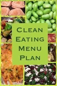 ideas for clean eating dinners and snacks this