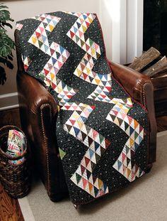 Martingale - Scrappy Fat Quarter Quilts--quilt by Liz Porter