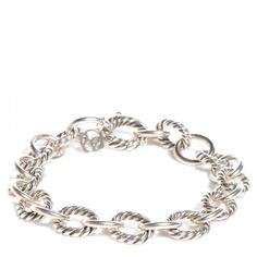 David Yurman Cable / Smooth SS Chain Link Bracelet. Free shipping and guaranteed authenticity on David Yurman Cable / Smooth SS Chain Link Bracelet at Tradesy. David Yurman Sterling Silver Link Bracelet  10mm ...