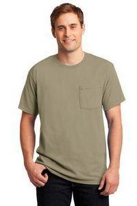 Jerzees� Dri-Power� Active 50/50 Cotton/Poly Pocket T-Shirt