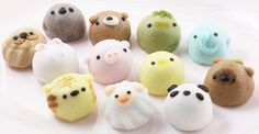Namikoshiken is a Nagoya-based sweets store that's been in business since 1927. They produce some of the most adorable animal-themed manju, buns with various filling like sweet bean jam.