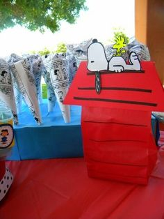 Snoopy Party Ideas for your next party