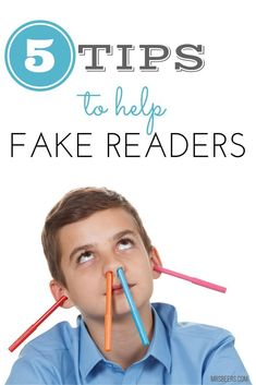Tips to help Fake Readers