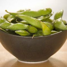 Could EDAMAME be a the healthiest high-protein snack of all time? One cup contains 17 grams of protein, 8 grams of fiber, and 189 calories. Dig in! | health.com