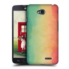 HEAD CASE DESIGNS PINK WATERCOLOURED OMBRE CASE COVER FOR LG L70 D320