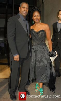Andre Braugher Wife   Picture - Denzel Washington and his wife Pauletta Pearson   Photo ...