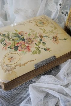 vintage scrapbook...