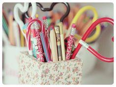 D.I.Y porta-lápis | Serendipity