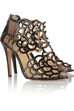 Oscar de la RentaGladia cutout leather sandals