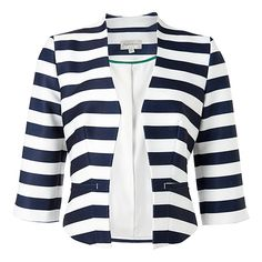 City Dressing Nautical Stripe Jacket