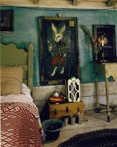 The New Victorian Ruralist: September 2010 Alice in Wonderland! Beautiful #bedroom