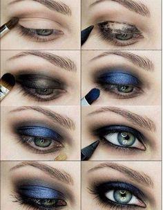 How to do Smokey Eye makeup | 25 Easy and Dramatic Smokey Eye Tutorials this Season  http://www.jexshop.com/