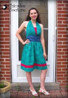 Create Kids Couture - Lexie's Women's Retro Halter Dress PDF Pattern, $8.00 (http://www.createkidscouture.com/lexies_womens.html)