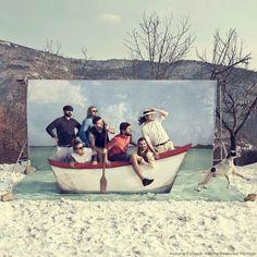 Huwelijksbootje Photo boot