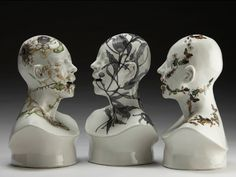 Jess Riva Cooper's ceramic art project Viral Series is meant to show humanities emotional and physical vulnerability in the face of the natural world.
