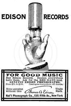 Thomas A Edison Records
