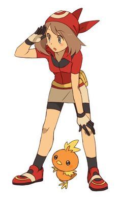 Trainer Sapphire ((in her Ruby Ver. outfit))