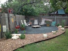 Hill Country Scapes & Design, LLC - Boerne, TX, United States. Beach themed backyard setting.