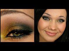 Glammy Green Makeup Tutorial FT. Glamour Doll Eyes