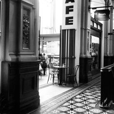 Old Bank Arcade interior, Wellington, New Zealand - by Leyla Forbes