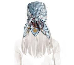 2014 F/W | Cheval Mirage | Vintage silk twill scarf (70 cm x 70 cm) | Ref. H982904S 29