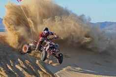 Sand Sports: Duning On A Pro Racer's Ride. Teixeira Tech's TRX450R unleased out in the dunes of Pismo.