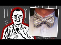 Never throw away those frayed, stained, old neckties again...How to Tie a Neck Tie into a Bow Tie