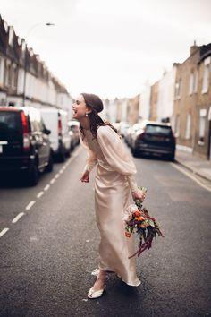 Harper's Bazaar contributing fashion editor had two weddings - in London and Mallorca. Elope Wedding, Boho Wedding Dress, Chic Wedding, Wedding Styles, Wedding Gowns, Wedding Photos, Wedding Music, Wedding Reception, Budget Wedding