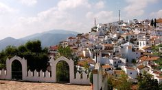 Silent Sunday: Hill-top village of Comares: