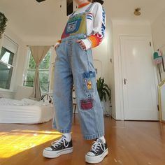"""f5e6abe219f ani📌 on Instagram  """"rate this outfit 1-10 🍄 OvEraLlS R dRoPpN oN DePoP  tOdAy 🔥 bOeInG sWeAtShIrT iZ gOiNg Up 2mOrRoW ⬆depop.com dalliance3  depop  ..."""
