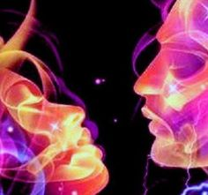 "Twin flames. ""It makes no difference how far apart you are on the planet. You feel each other and telepathise easily. The level of Heart and Soul connection is completely undeniable and truly overwhelming."""