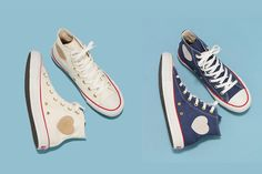 Converse Heartpatch denim