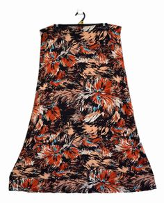 Free Postage (size 18) Suzannegrae Skirt - Abstract Fireworks Pattern - XL Maxi