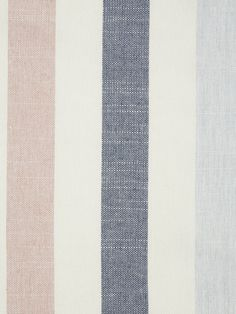 Buy John Lewis & Partners Penzance Stripe Made to Measure Roman Blind from our Made to Measure Roman Blinds range at John Lewis & Partners. Pink Roman Blinds, Curtains Or Roman Blinds, Voile Curtains, Fabric Blinds, Strip Curtains, Coastal Fabric, Bathroom Blinds, Blue Colour Palette, Made To Measure Curtains