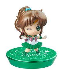 Bishoujo Senshi Sailor Moon - Sailor Jupiter - Petit Chara! Series - Bishoujo Senshi Sailor Moon Puchitto Oshioki yo! Hen Glitter ver. - Petit Chara! Series - Glitter ver. (MegaHouse)