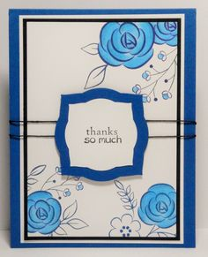 Inspired by Richard Garay's Make~Live~Share card. Cardstock, and ink are Huckleberry, stamp set is Sweet You and sentiment is little BIG Greetings. Copics B 22, B 24, B27