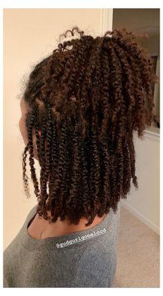 Natural Hair Braids, Braids With Curls, Natural Hair Growth, Twist Braids, 2 Braids, Twist On Natural Hair, Two Strand Twist Updo, Natural Hair Weaves, Havana Twists