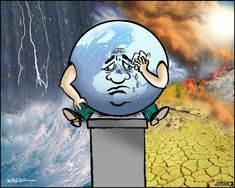 Climate change: 'Humpty Dumpty sat on a wall, Humpty Dumpty had a great fall. All the king's horses and all the king's men, Couldn't put Humpty together again.'