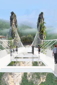 China Set To Open World's Longest And Highest Glass-Bottom Bridge