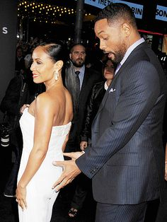Will and Jada Pinkett Smith Turn on the Flirt at Focus Premiere.  One of my favorite celebrity couples!