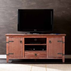 Dillon Rustic Plank TV Console for TVs up to 49-1/2""