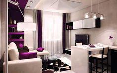 Картинки по запросу примеры оформления дизайна квартиры студии