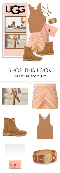 """""""The New Classics With UGG: Contest Entry"""" by metter1 ❤ liked on Polyvore featuring UGG, Valentino, 3.1 Phillip Lim, Armani Jeans, BillyTheTree, Vanessa Mooney and ugg"""