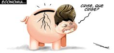 """Contas do governo têm pior resultado em 18 anos. """"A queda da arrecadação provocada pela desaceleração da economia teve impacto nas contas públicas no primeiro semestre. De janeiro a junho, o governo federal – Tesouro Nacional, Previdência Social e Banco Central – acumula déficit primário de R$ 1,598 bilhão. Em valores reais (corrigidos pela inflação oficial), o resultado é o pior da história para os seis primeiros meses do ano desde a criação da série histórica, em 1997."""""""
