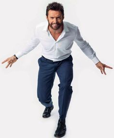 Hugh Jackman is the perfect man: he's an awesome actor, he's sexy as frig, he's Australian, he sings, he's been married to the same woman for like two decades and on top of ALL OF THAT he's Wolverine.