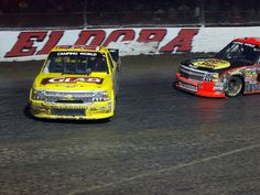 Kyle Larson, left, spins out in front of Ty Dillon