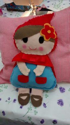 Chapeuzinho vermelho travesseiro