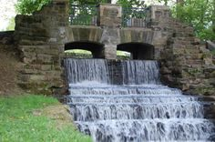 The Falls at Monument Park * Canton, Ohio * Photo by Dan Walter