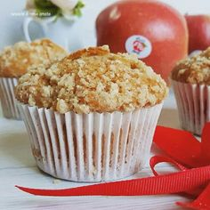 Apple muffin pie con cannella   Cucinare è come amare Pane, Dolce, Biscotti, Muffins, Brunch, Cupcakes, Breakfast, Food, Tasty Food Recipes